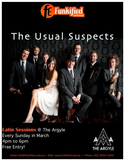 TUS Live @ The Argyle