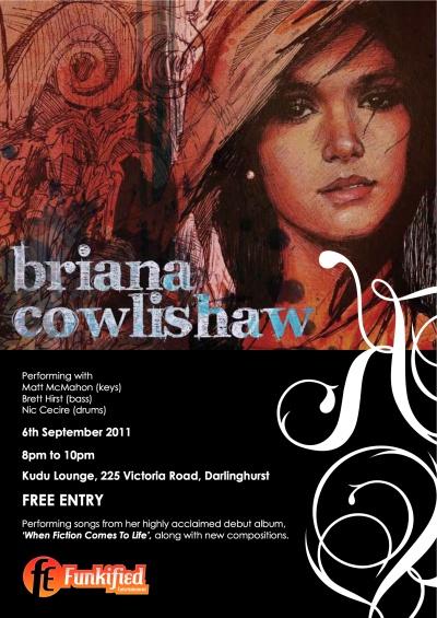 Sydney Jazz Singer Briana Cowlishaw